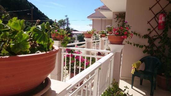 Corfu Santa Barbara: balcon