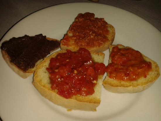 Trattoria Pizzeria La Tavernetta : crostini misti