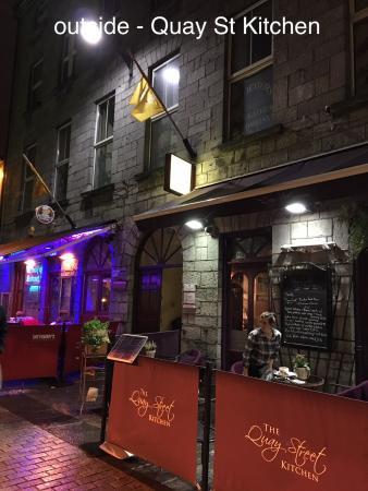 Quay Street Kitchen Galway Menu