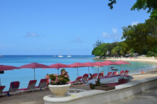 Sandy Lane Hotel: View of the bay