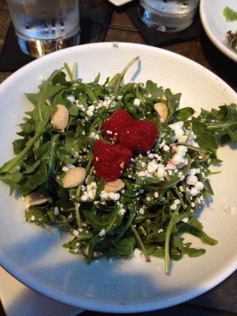 Fabulous goat cheese & marcona salad