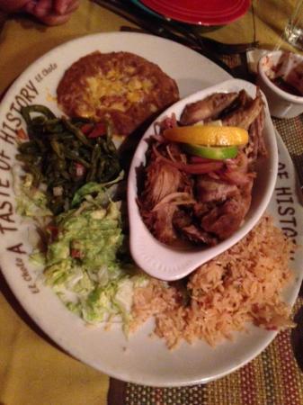 El Cholo Restaurant: Carnitas Platter