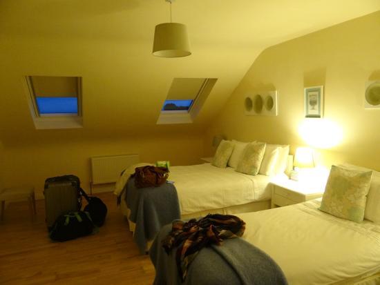 Tig an Rince : la nostra camera quadrupla a mansarda