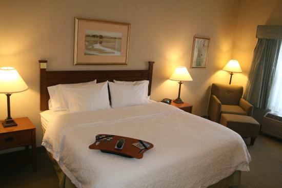 Hampton Inn Bloomsburg: King Room