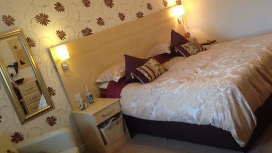 Talsarnau, UK: Lovely king size room