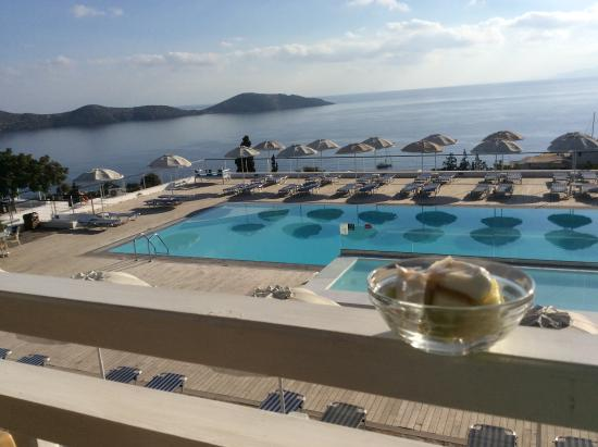 Breakfast with a view - Picture of Elounda Ilion Hotel, Elounda ...
