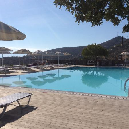 Elounda Ilion Hotel: Exceptionally clean pool