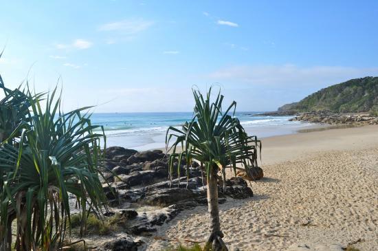 Coolum Beach, ออสเตรเลีย: First bay - beautiful !