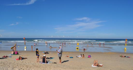 Main Beach at Coolum beach - 800m walk from Villa Coolum