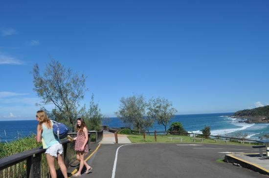 Coolum Beach, Avustralya: Point Perry - Whale watching platform 150 m walk from Villa Coolum