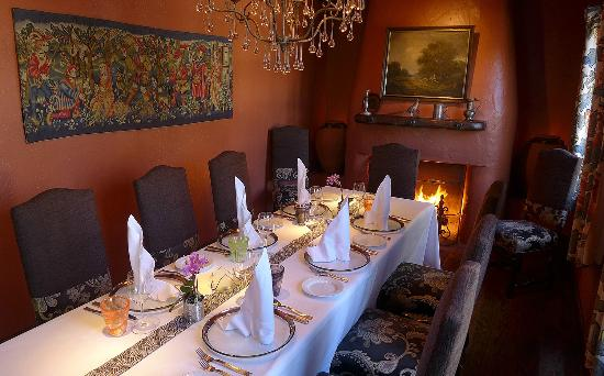 Chateau du Sureau: Erna's Elderberry House Restaurant - private dining room