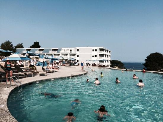 Rockport, ME: Amazing pool and views