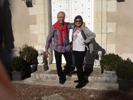 Glenouze, Fransa: At the entrance