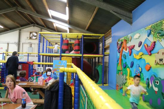 Kendal, UK: soft play