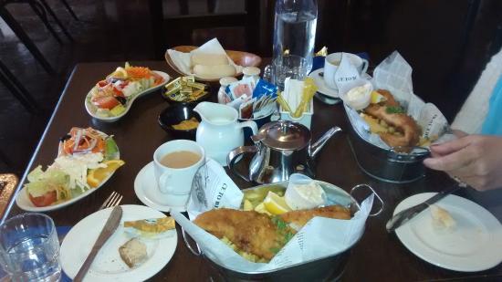 Dugort, Irlandia: fish supper