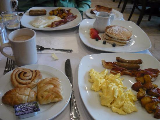 Regency Hotel Miami: Breakfast
