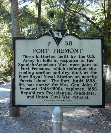 Fort Fremont: Ft. Fremont history