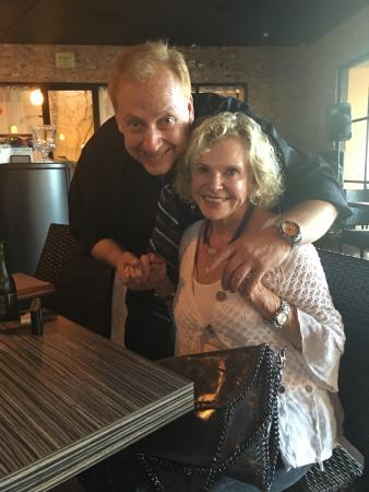 Brio Tuscany Grille: Claudio and I at Brios