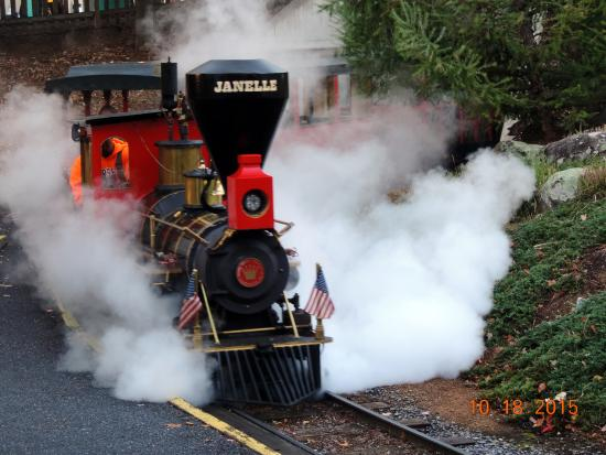 Hersheypark Steam Train