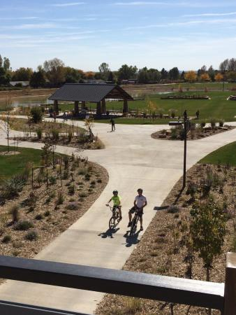 Loveland, CO: Well-designed park with a bridge