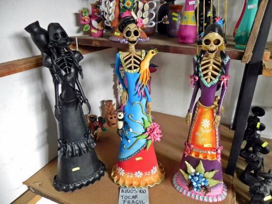 Capula, Μεξικό: Catrinas