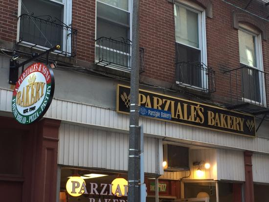 Parziale's Bakery Incorporated: Front of Bakery