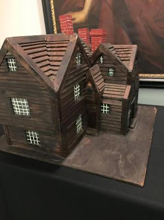 The House Of The Seven Gables: House Of Seven Gable Maquete