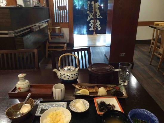 Yoshitsune Restaurant: Breakfast Set