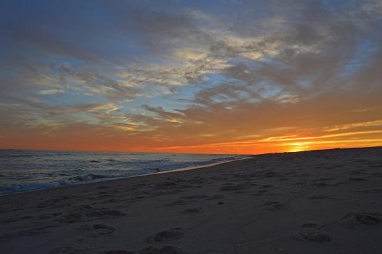 Fire Island, Nowy Jork: sunset