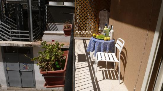 Agrigento Bed : Балкон