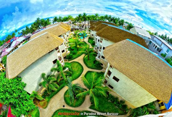 Ambassador in Paradise Resort: View from Presidential Suite, Resort view