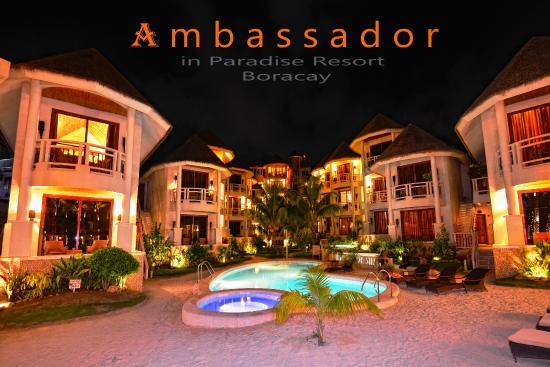 Ambassador in Paradise Resort: Hotel view