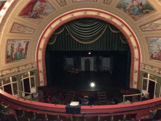Calumet, MI: The Stage From the Balcony
