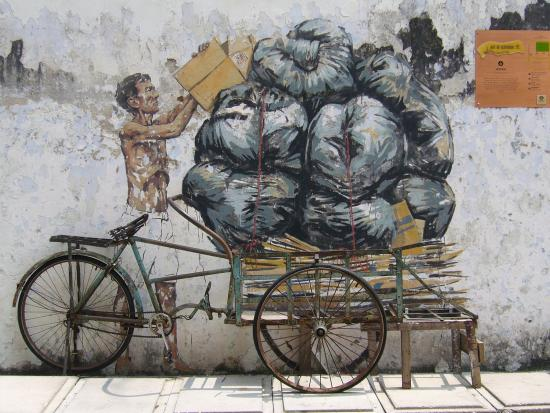 Art of OLDTOWN: Trishaw