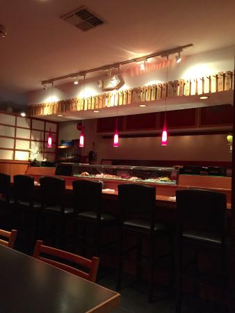 Westhampton Beach, NY: View of sushi bar