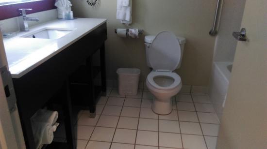 BEST WESTERN Sugar Sands Inn & Suites: Bathroom