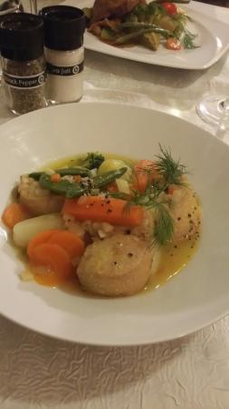 st jacques et pot au feu de foie gras photo de la table de pol metz tripadvisor