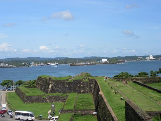 Bentota, Sri Lanka: More of thew Galle fort