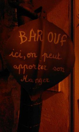 Le Bar Ouf