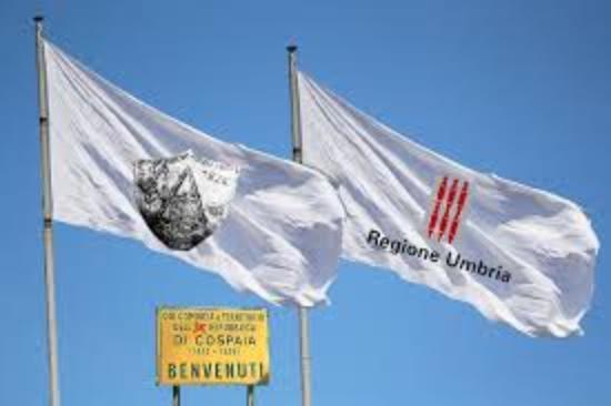 San Giustino, Italië: Bandiera di Cospaia
