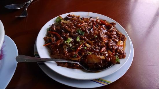 Fia Fia Seafood Reastaurant : Some pork dish