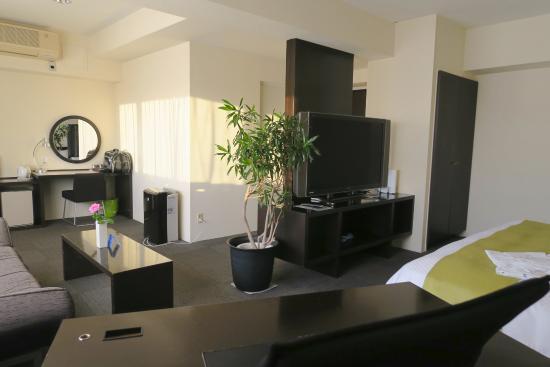 Kurume Hotel Esprit: ここはどういったお客様を想定してできた部屋なんでしょうね・・・
