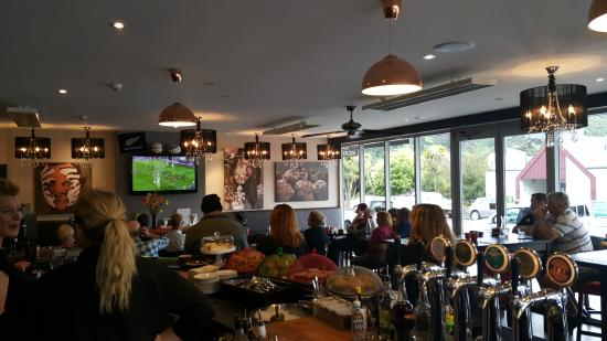 All Blacks Vs France at Cafe Cortado
