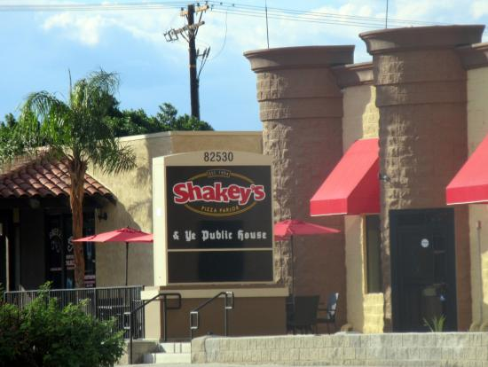 Shakey s Pizza Parlor US Hwy 111 Indio Ca Picture of Shakey s