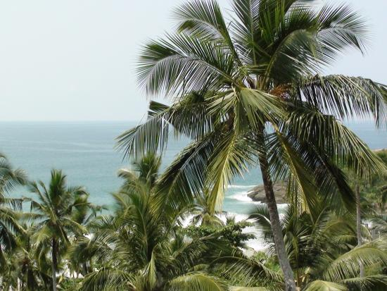 View from suite (4th Floor) - Kovalam Beach