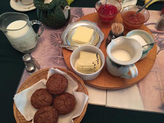 Ellerslie, Канада: 朝食