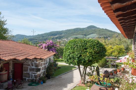 Quinta da Cancela: Rückwärtige Aussicht über das Hügelland