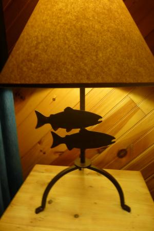 Campton, KY: Cool lamp
