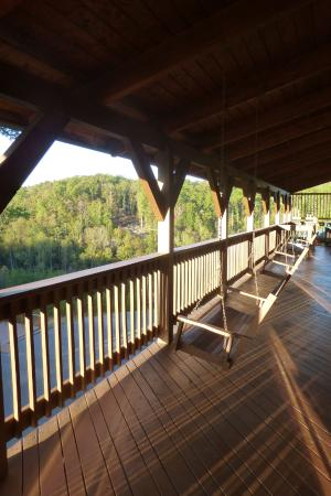 Campton, KY: Balcony