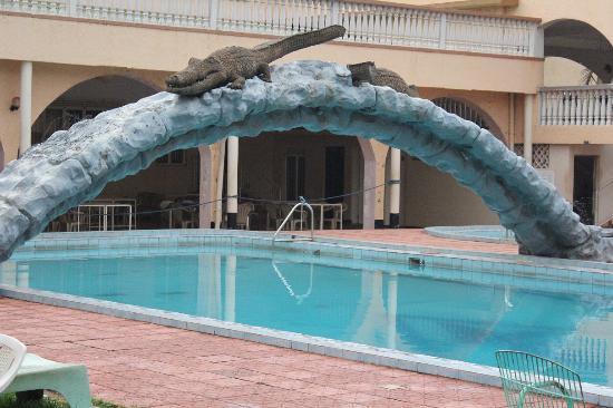Swimming Pool Picture Of Brisk Hotel Triangle Jinja Tripadvisor
